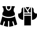新柄最高級衣裳2点・足袋(和装・洋装 各1点)