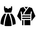 新婦衣裳2着(和装、洋装)