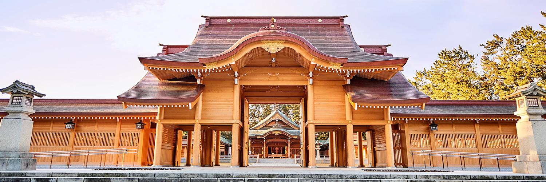 新潟縣護國神社 大拝殿